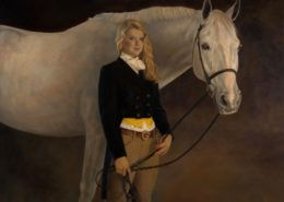 Oil Painting by Michele Warner, Artist